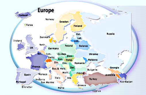 Maps Update 11661132 Tourist Map Of Europe Map of EuropeEurope – Travel Map Of Europe
